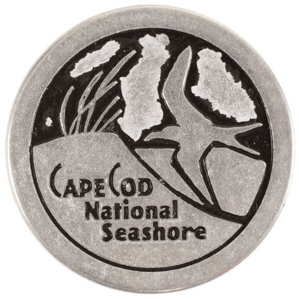 Cape Cod National Seashore Park Collectible Token Coin Massachusetts Cutout