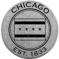The Windy City token back