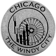 The Windy City token front